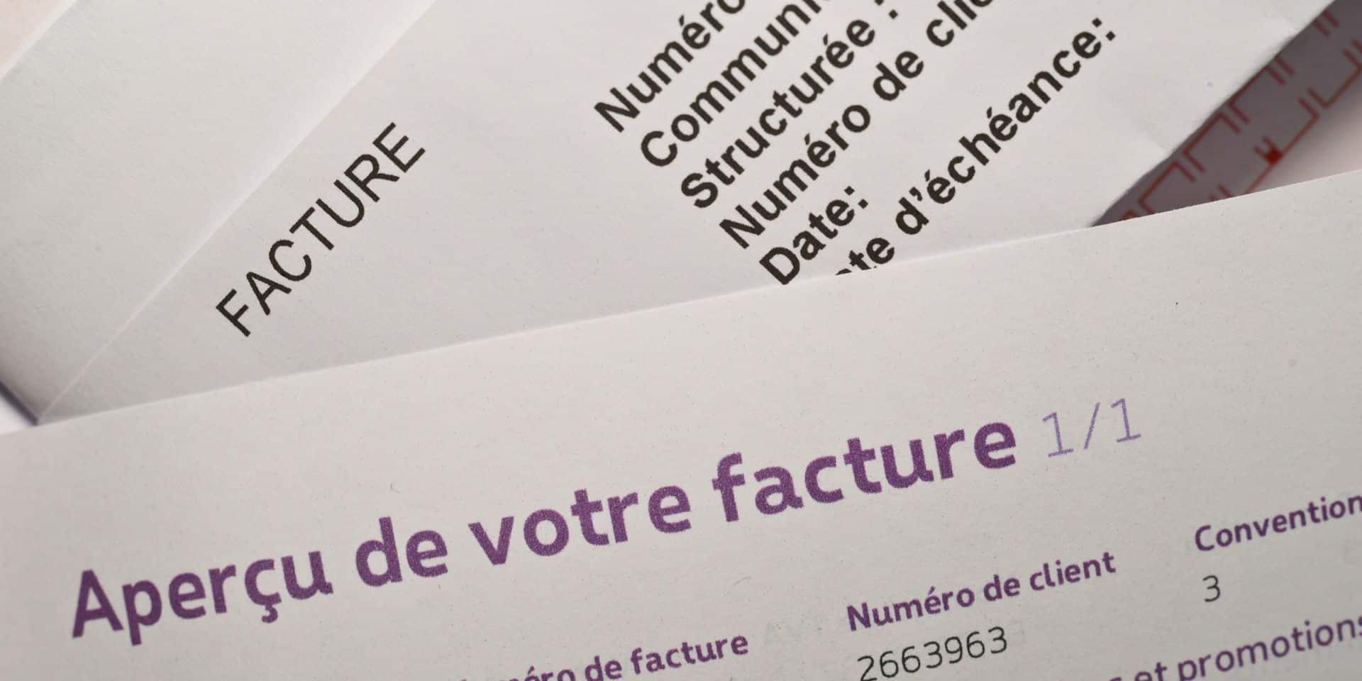 Facture électronique obligatoire entre l'administration bruxelloise et les marchés publics