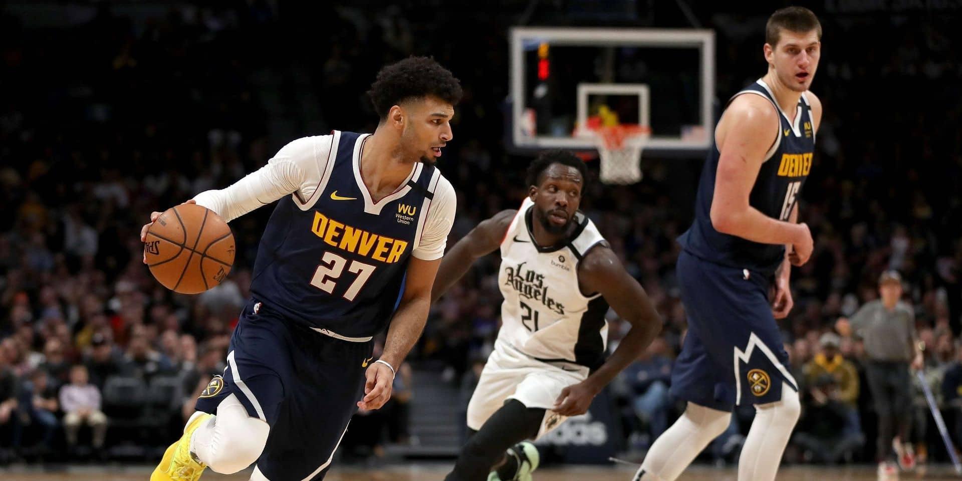 Denver et Utah nouveaux dauphins des Lakers à l'Ouest