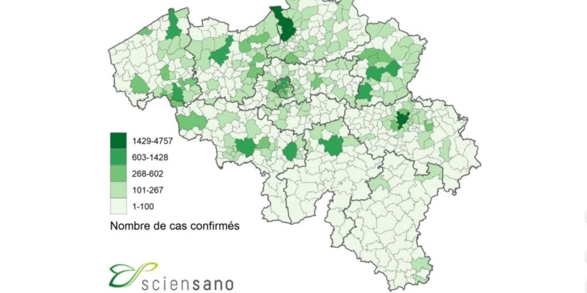 Covid-19 : 53 nouveaux cas ces 7 derniers jours en province de Luxembourg