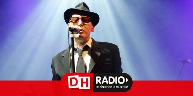 Alain Bashung en concert au festival Les Ardentes.