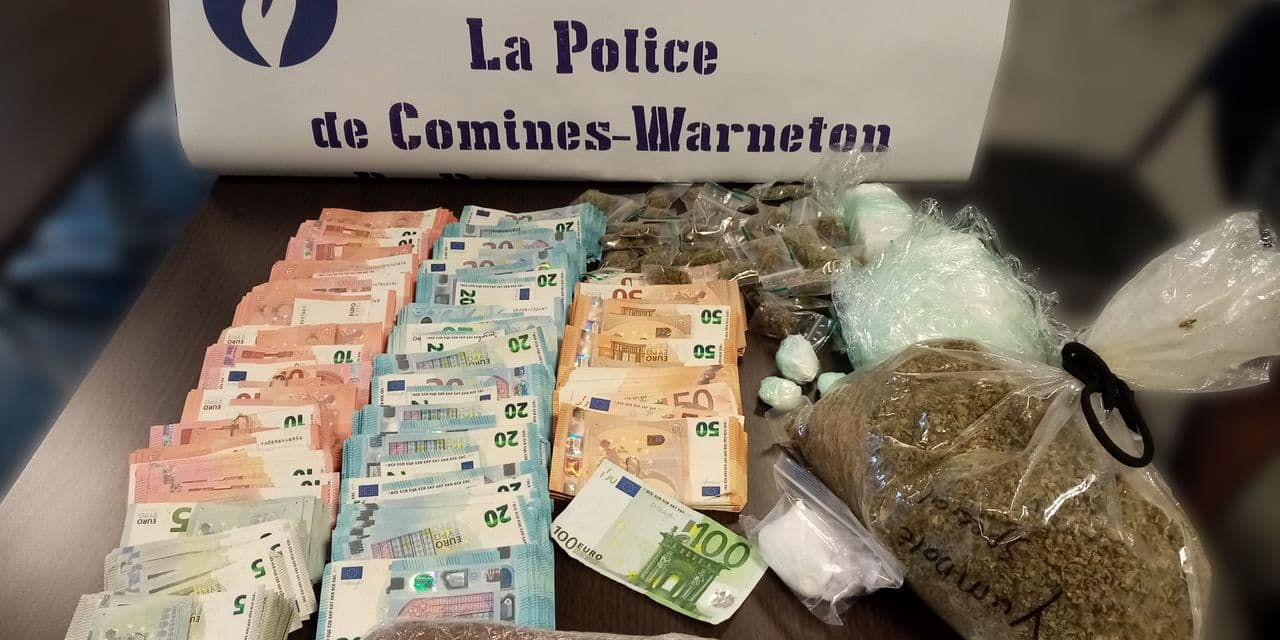 Comines-Warneton: les résultats de l'important coup de filet anti-drogue