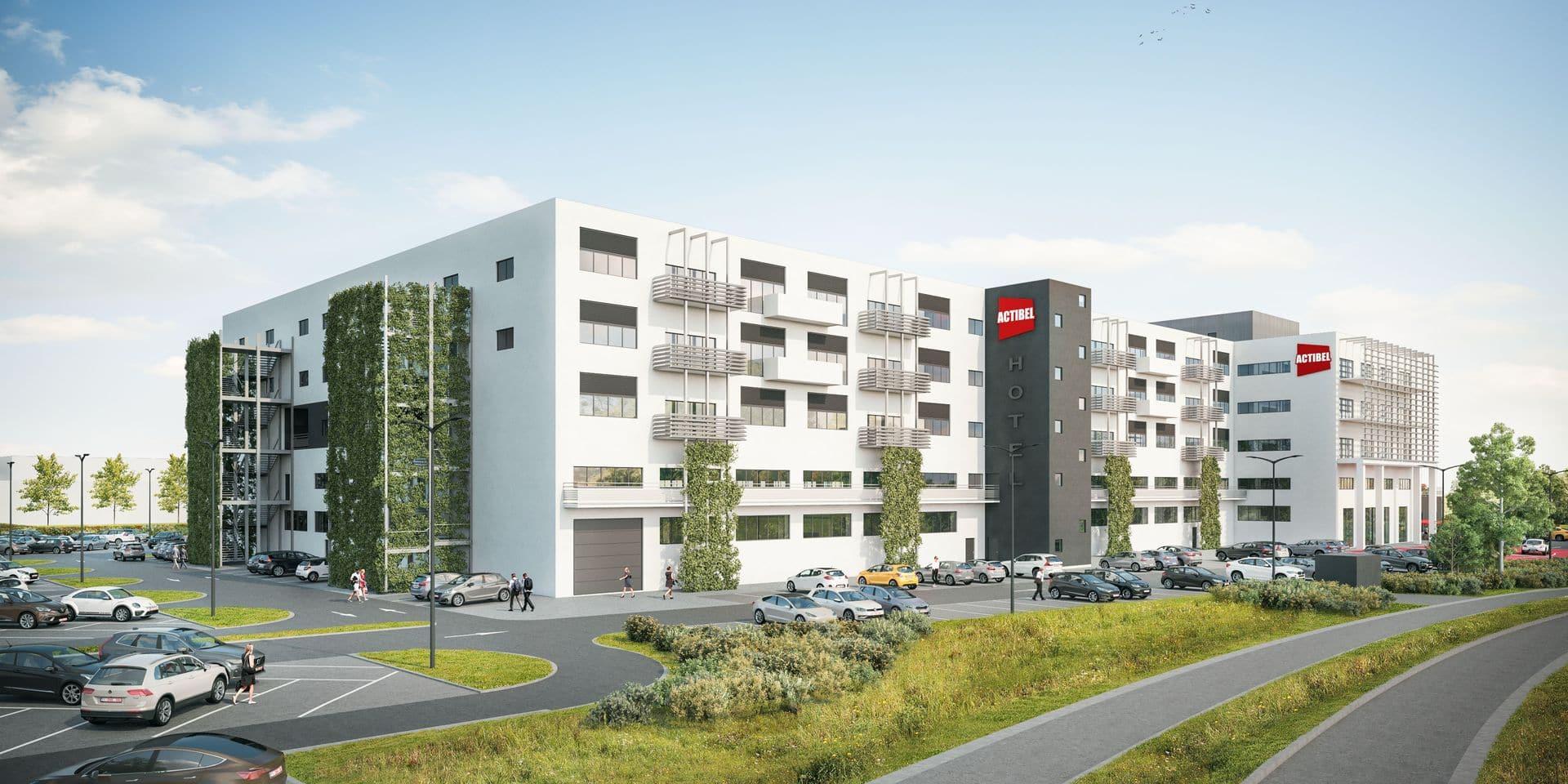 Toutes les entrées de Namur seront couvertes par des hôtels