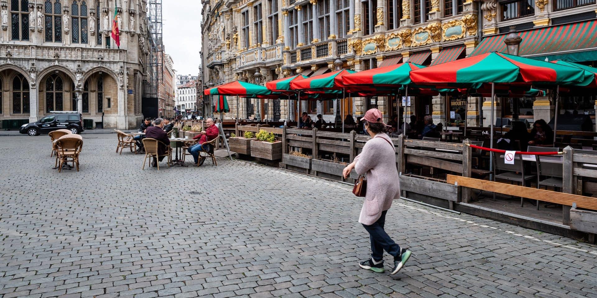 Deux voleurs de vélos arrêtés Grand-Place de Bruxelles
