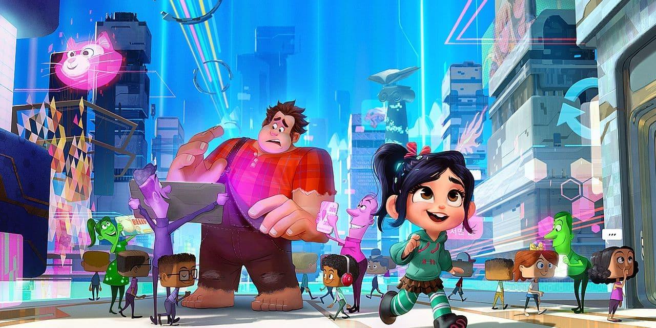 Ralph 2.0: un film d'animation d'une richesse folle qui casse internet