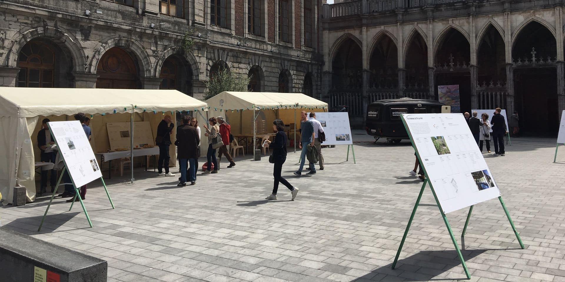 Tournai : Participez à la mise en valeur du patrimoine architectural