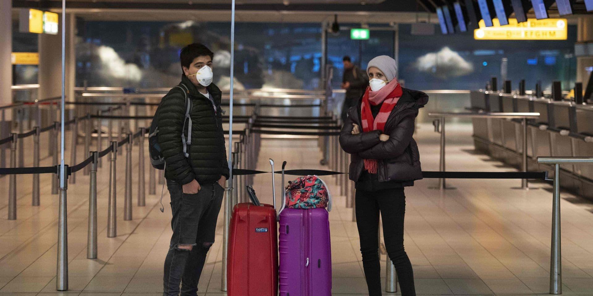 Les Pays-Bas font passer la Belgique au jaune dans les conseils de voyages