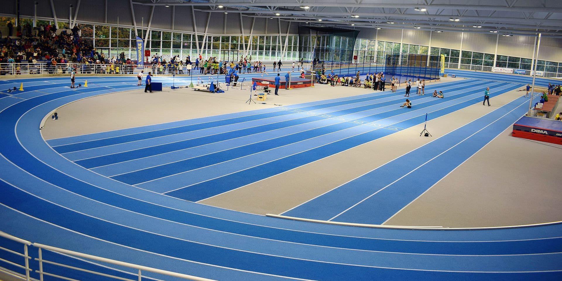 Le nouveau hall d'athlétisme de Louvain-la-Neuve a accueilli sa première compétition