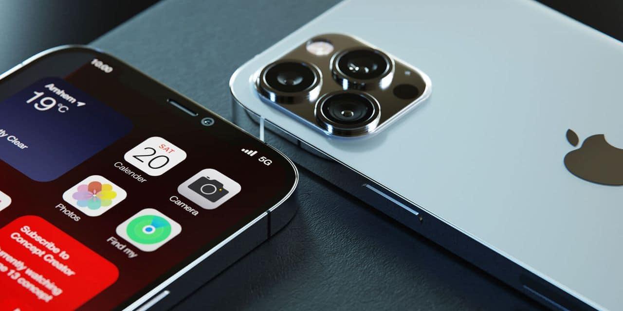 iPhone 13 : enfin une encoche réduite ! - dh.be