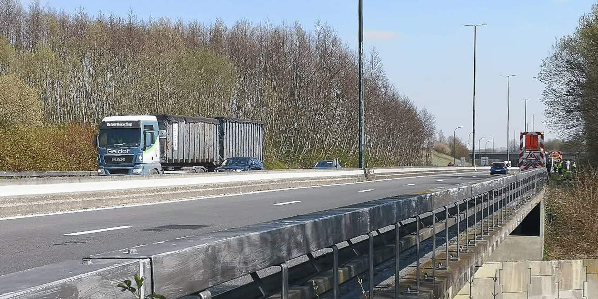 Frasnes: les conducteurs déplorent l'état de l'A8 !