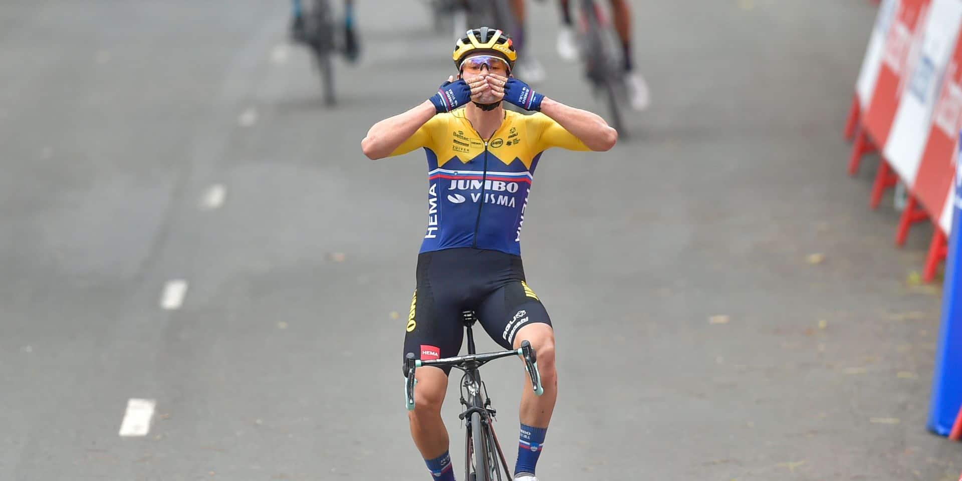 Tour d'Espagne: Primoz Roglic frappe d'entrée