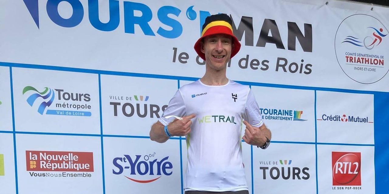 """Après 21 mois d'interruption Covid, le triathlète François Fouss a regoûté à la compétition: """"J'avais oublié que ça faisait mal tout ça"""""""