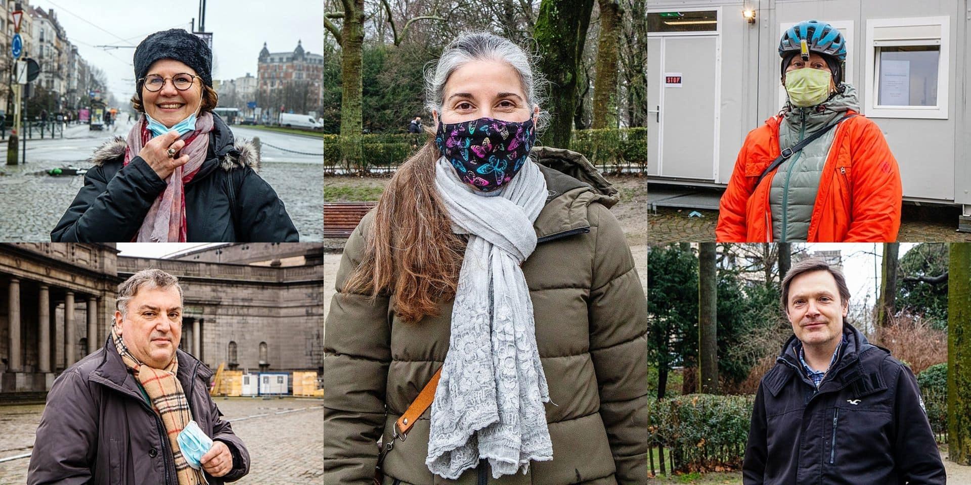 """""""Ils représentent l'avenir"""", """"ils ont besoin de retrouver cette insouciance """": ces Bruxellois sont prêts à laisser leur place aux jeunes pour se faire vacciner"""