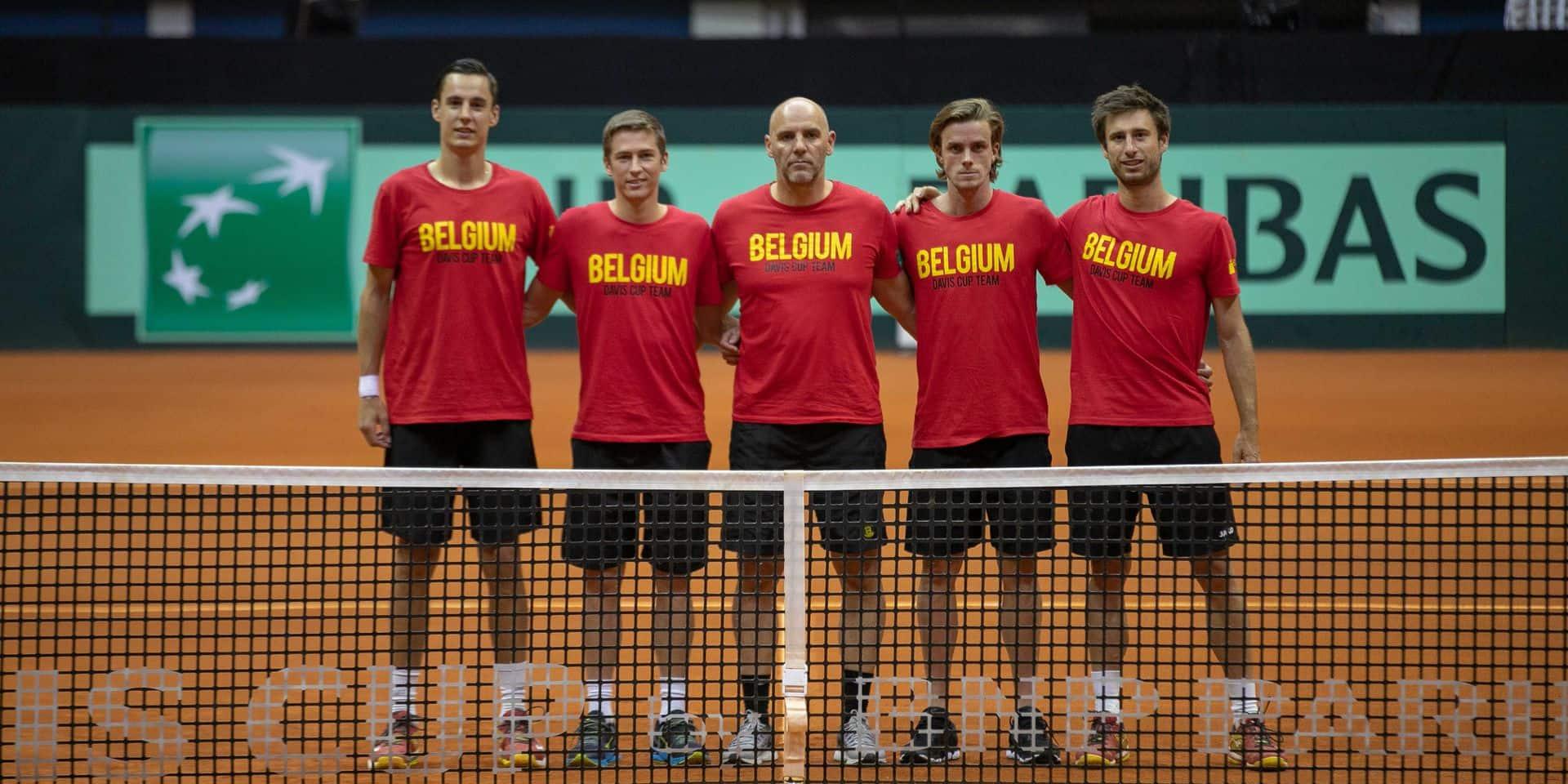 Coupe Davis: les conditions particulières d'un Brésil-Belgique au milieu de nulle part!