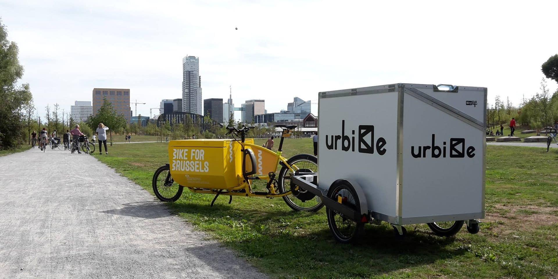 Le vélo, transport d'avenir pour les livraisons dans le centre-ville de Bruxelles