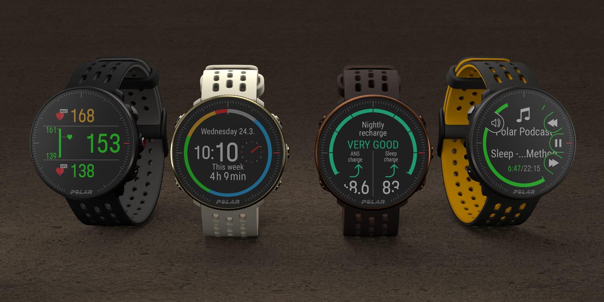 Polar lance une version 2 pour ses montres Vantage M et Ignite