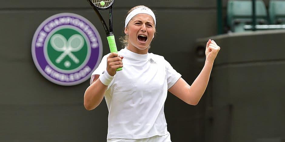 Jelena Ostapenko et Angelique Kerber dans le dernier carré