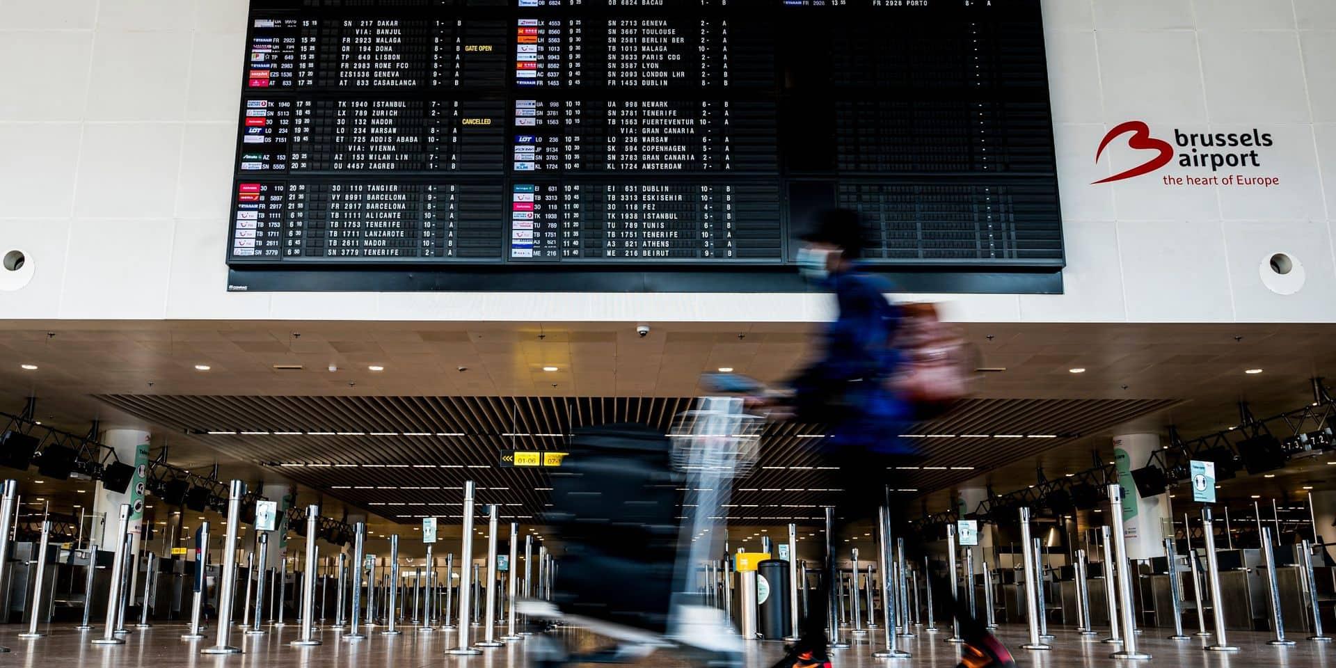 A peine 165.000 passagers à Brussels Airport en février, une baisse de 90%