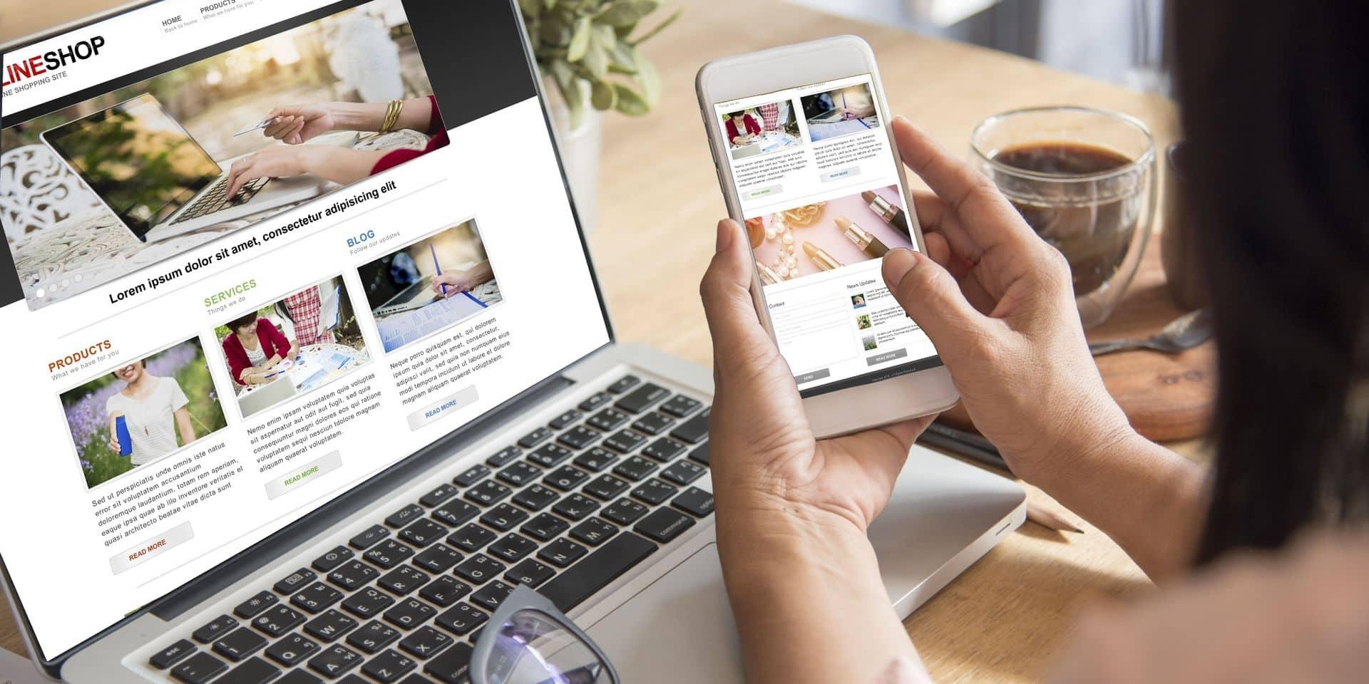 Les ventes en ligne explosent: la mode, l'électronique et jeux ont le vent en poupe