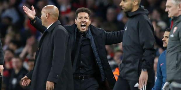 """Simeone rend hommage à son groupe: """"Ces joueurs sont des héros"""" - La DH"""