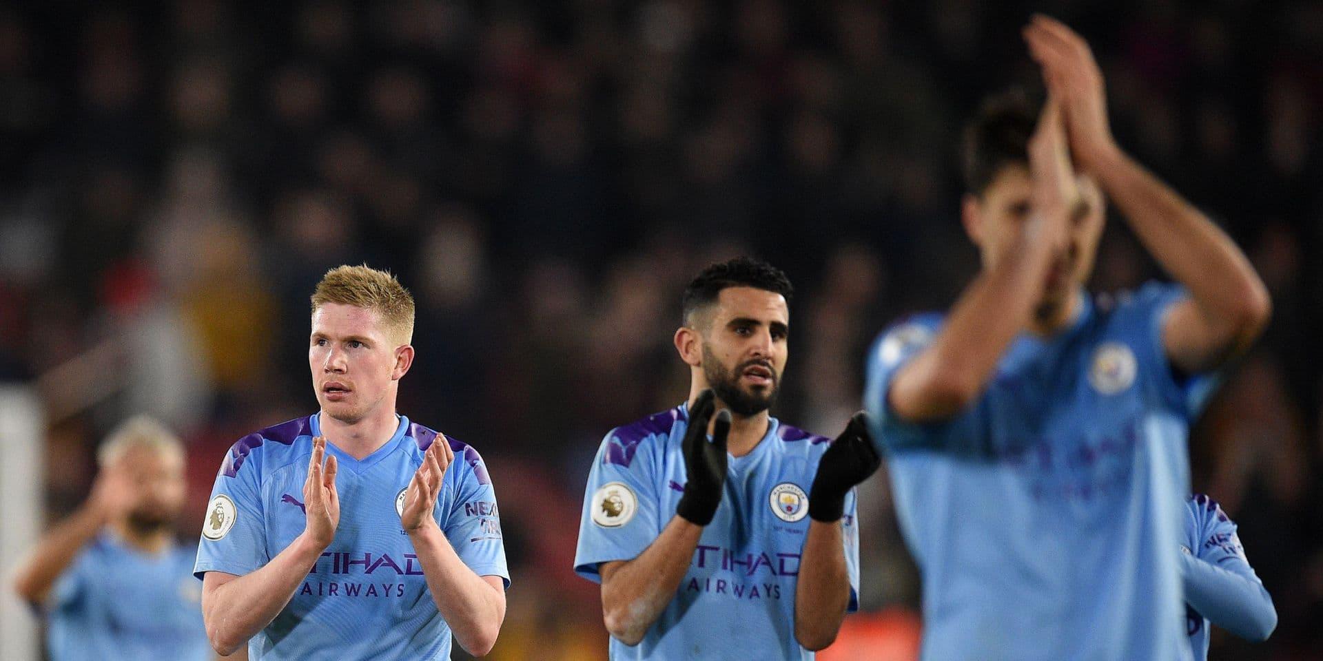 Les Belges à l'étranger: Manchester City s'impose avec un assist de De Bruyne, Lyon avec Jason Denayer élimine Lille