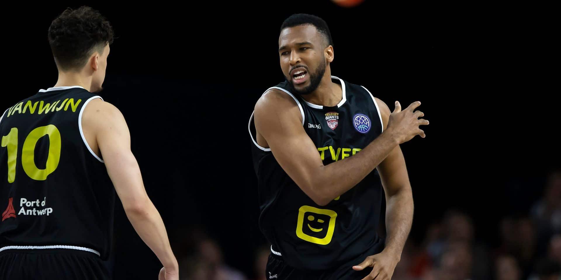 Trevor Thompson (ex-Anvers) rejoint Malines en Euromillions Basket League