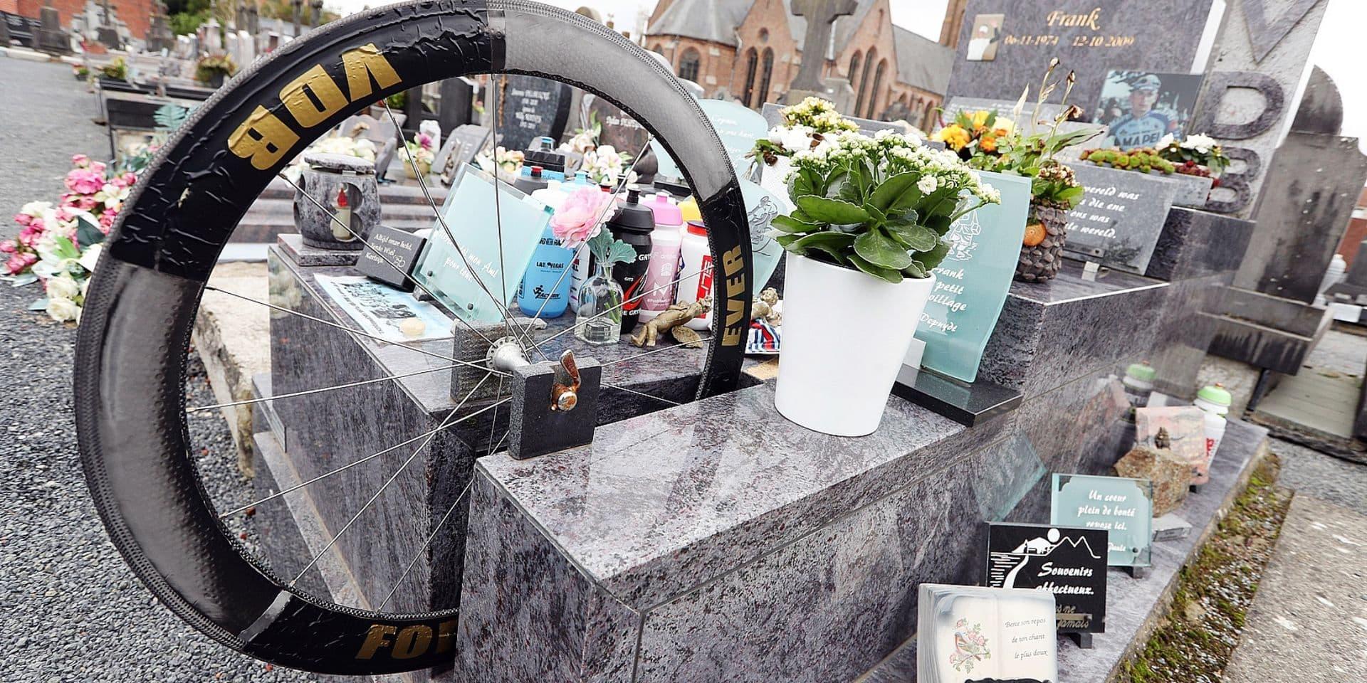 Sur la tombe de Vandenbroucke: Un mythe impérissable