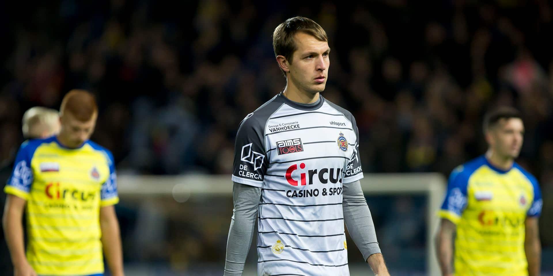 Davy Roef ne pourra pas jouer contre Anderlecht