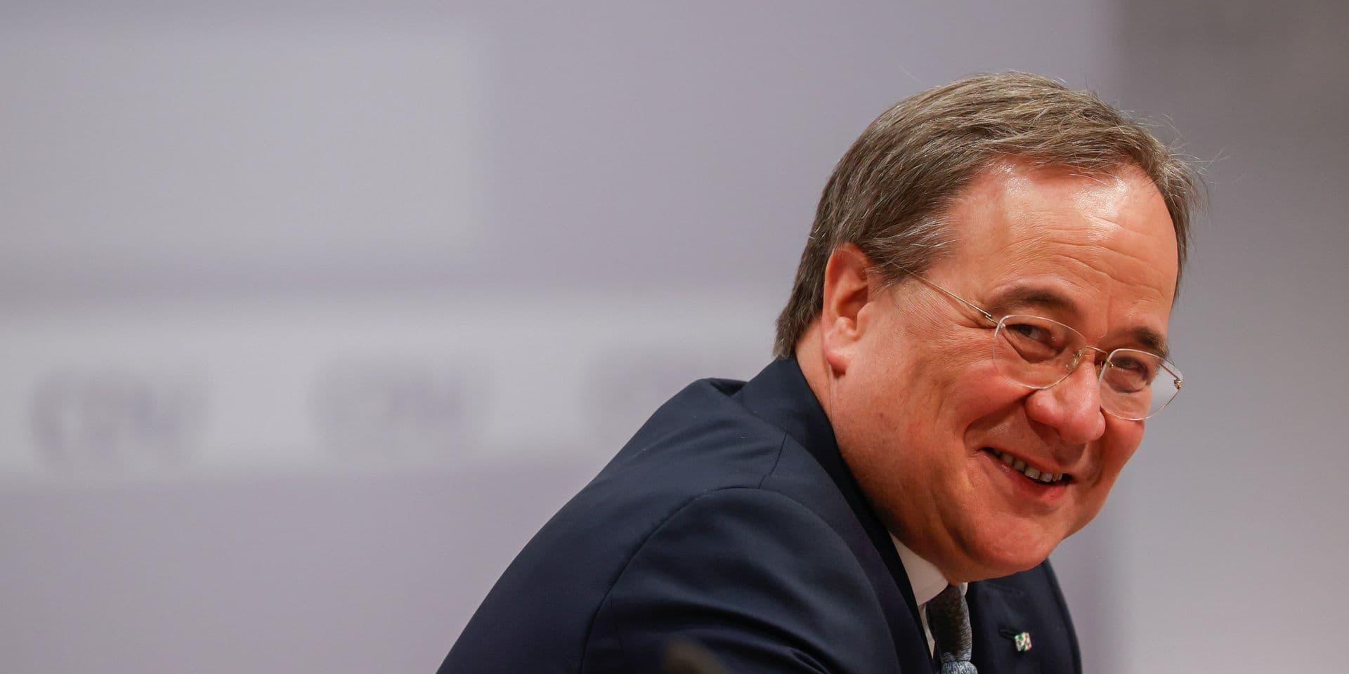 """Armin Laschet, le nouveau président de la CDU allemande, a des origines louviéroises : """"Je vais l'inviter à venir retrouver ses racines"""""""