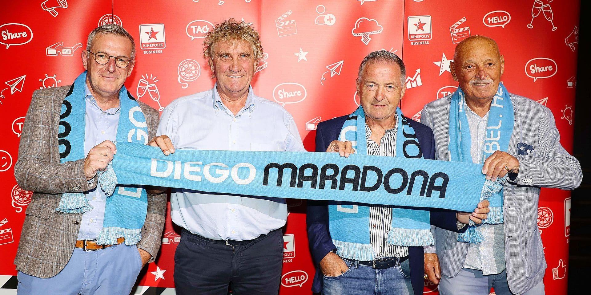 """Van Der Elst, Pfaff, Veyt et Frutos reviennent sur leurs souvenirs de Maradona: """"Mon moment de gloire: quand j'ai fait pipi avec lui"""""""