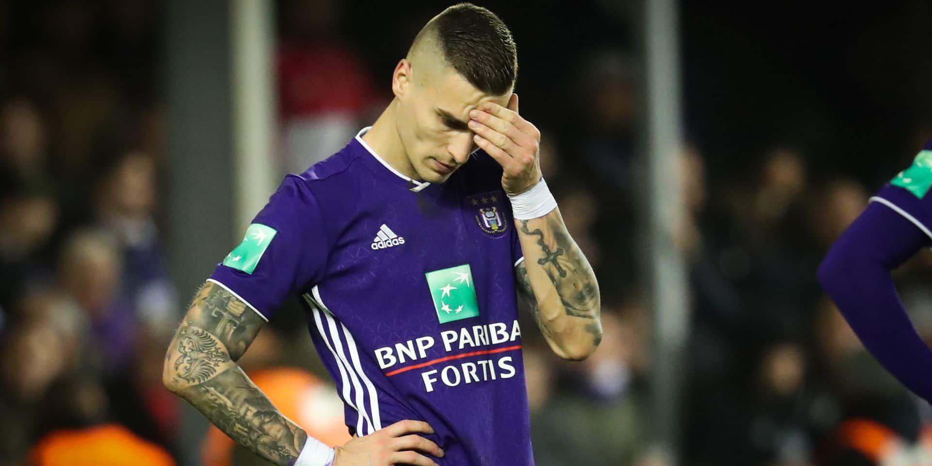 """""""Vranjes quitte Anderlecht et a signé à l'AEK jusqu'en 2024"""""""