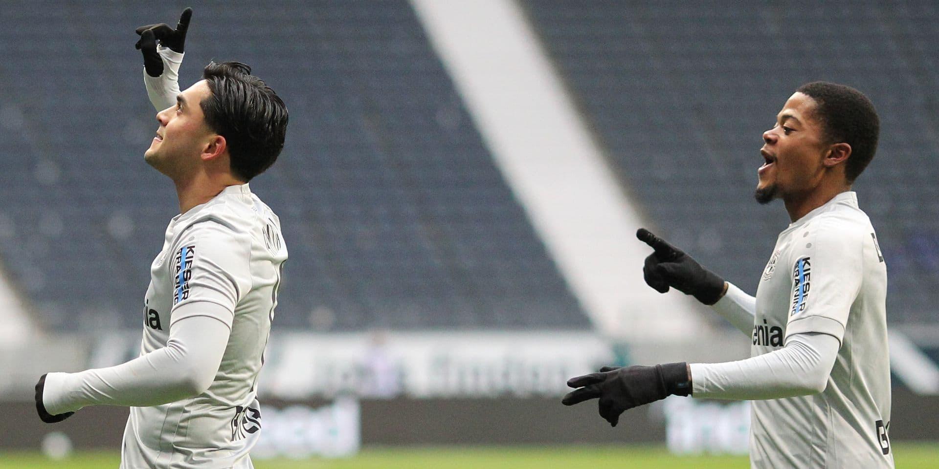 Petit pont et talonnade: ce joueur de Bundesliga s'est offert, au moins provisoirement, le but de l'année (VIDEO)