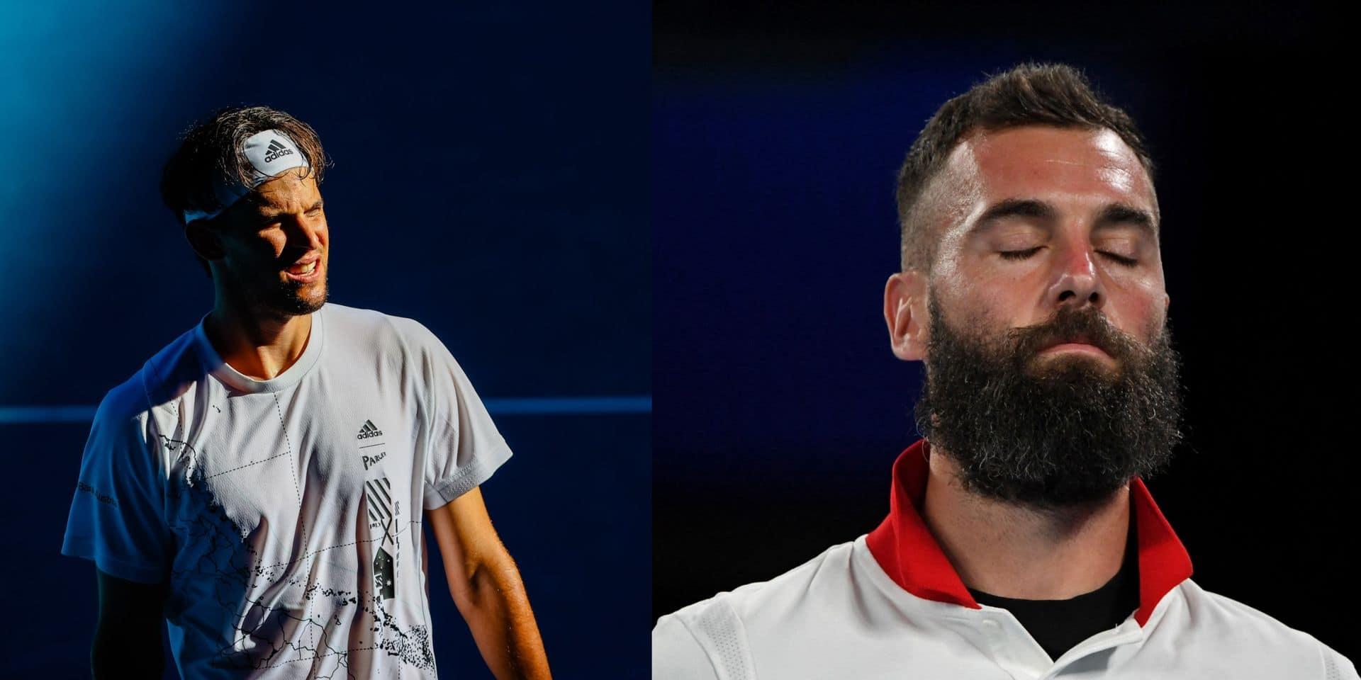 """Dominic Thiem recadre Benoit Paire : """"Si tu n'as pas envie de jouer, prends des vacances"""""""