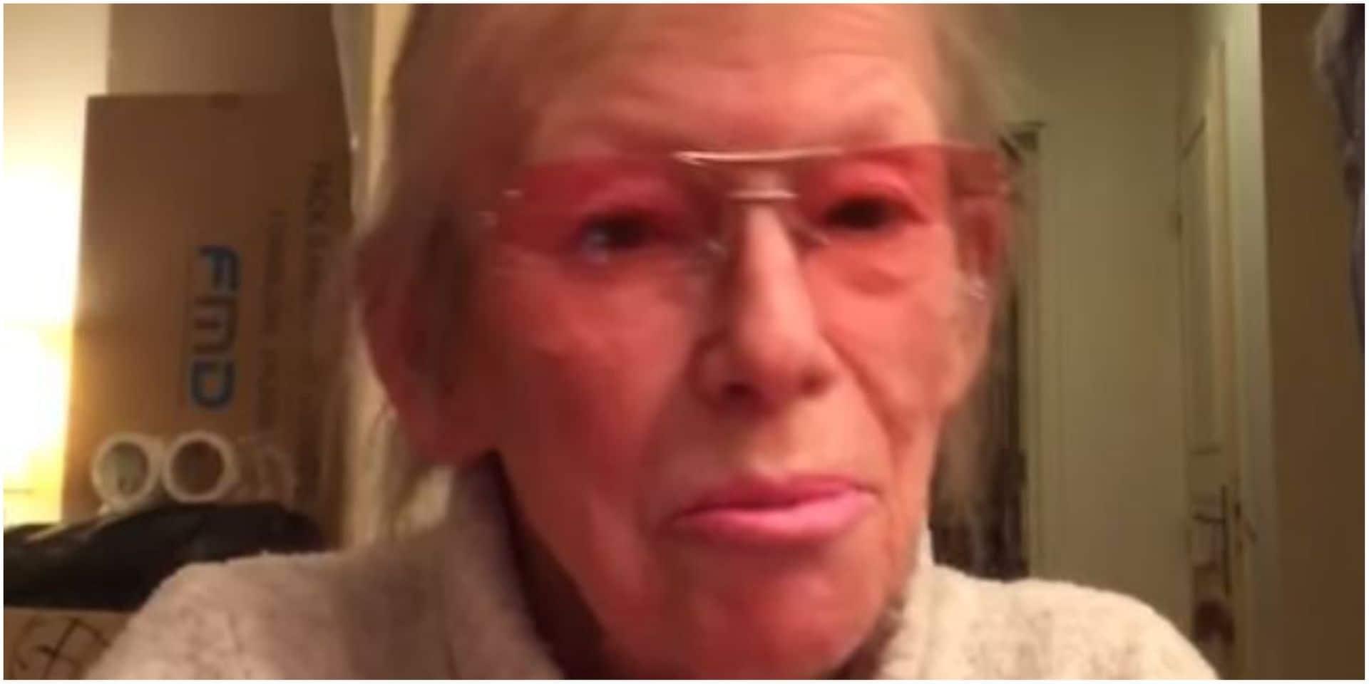 """Evelyne Leclercq, méconnaissable: """"Je n'ai pas le look habituel mais rien n'est habituel actuellement"""""""