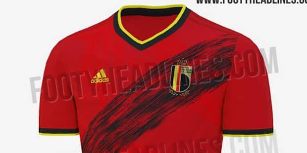 Le nouveau maillot des Diables Rouges pour l'Euro 2020 aurait fuité sur Internet