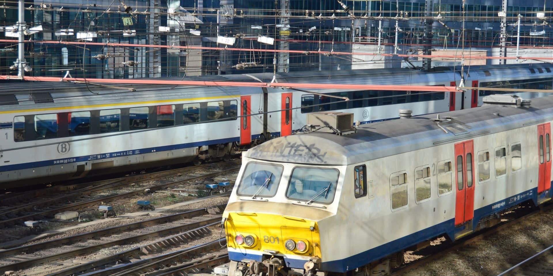 Le trafic ferroviaire interrompu entre Bruxelles et Louvain après un accident de personne