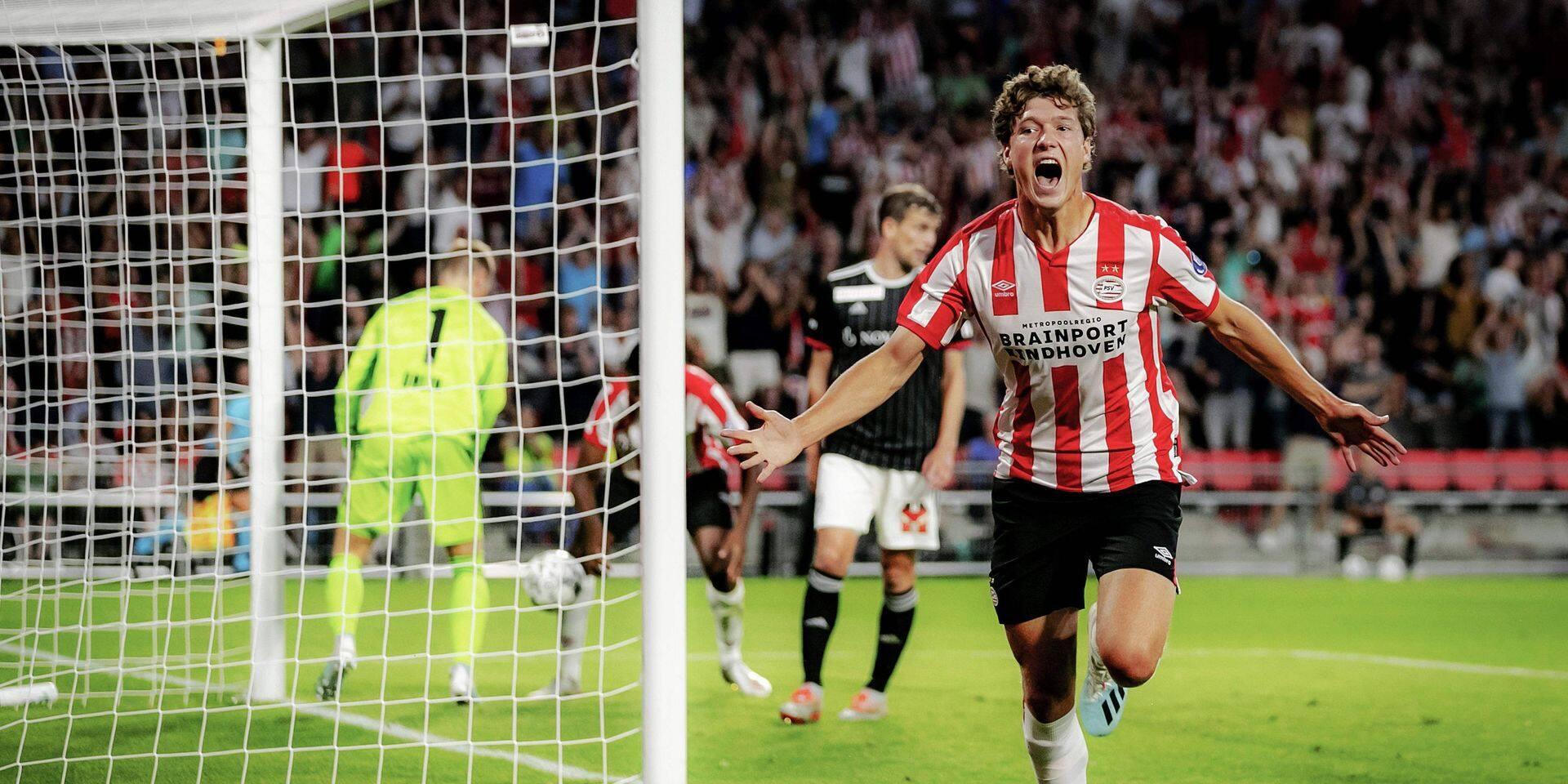 Champions League: le PSV renverse Bâle, bonne opération pour Zagreb et Copenhague