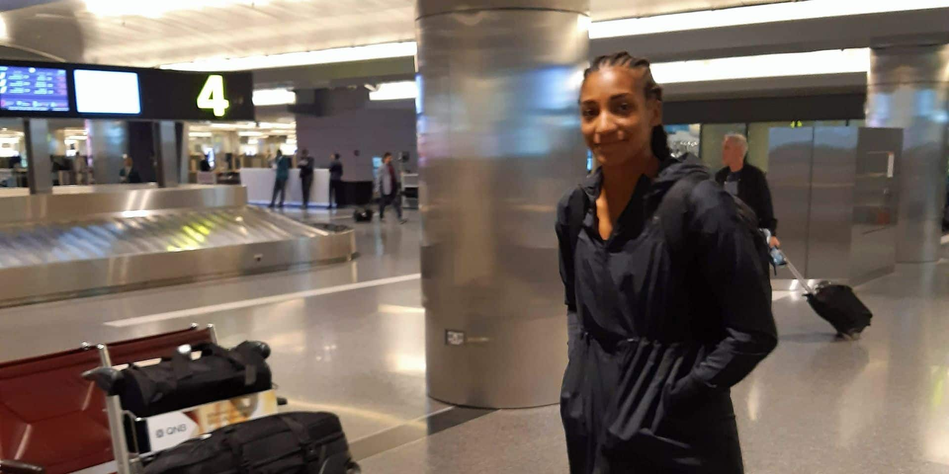 Mondiaux d'athlétisme: Nafi Thiam, Isaac Kimeli, Robin Hendrix et Thomas De Bock sont bien arrivés à Doha