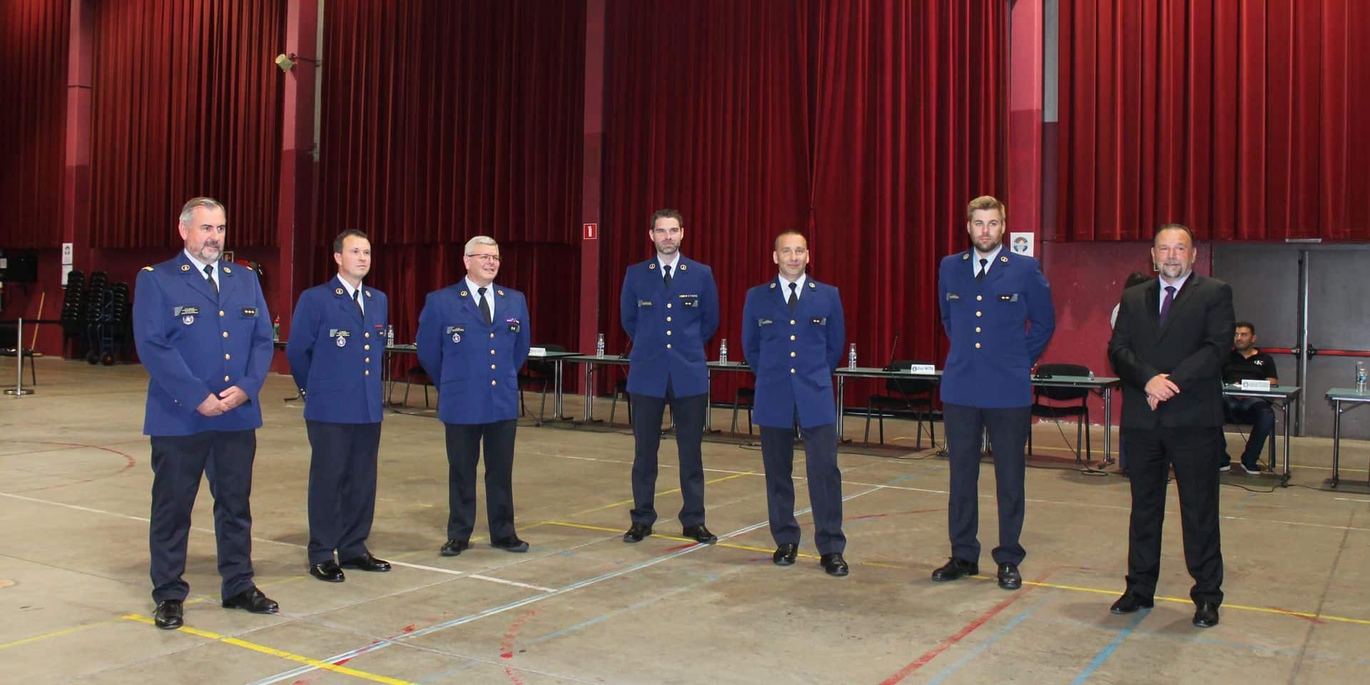 Cinq nouveaux commissaires rejoignent la Police Boraine