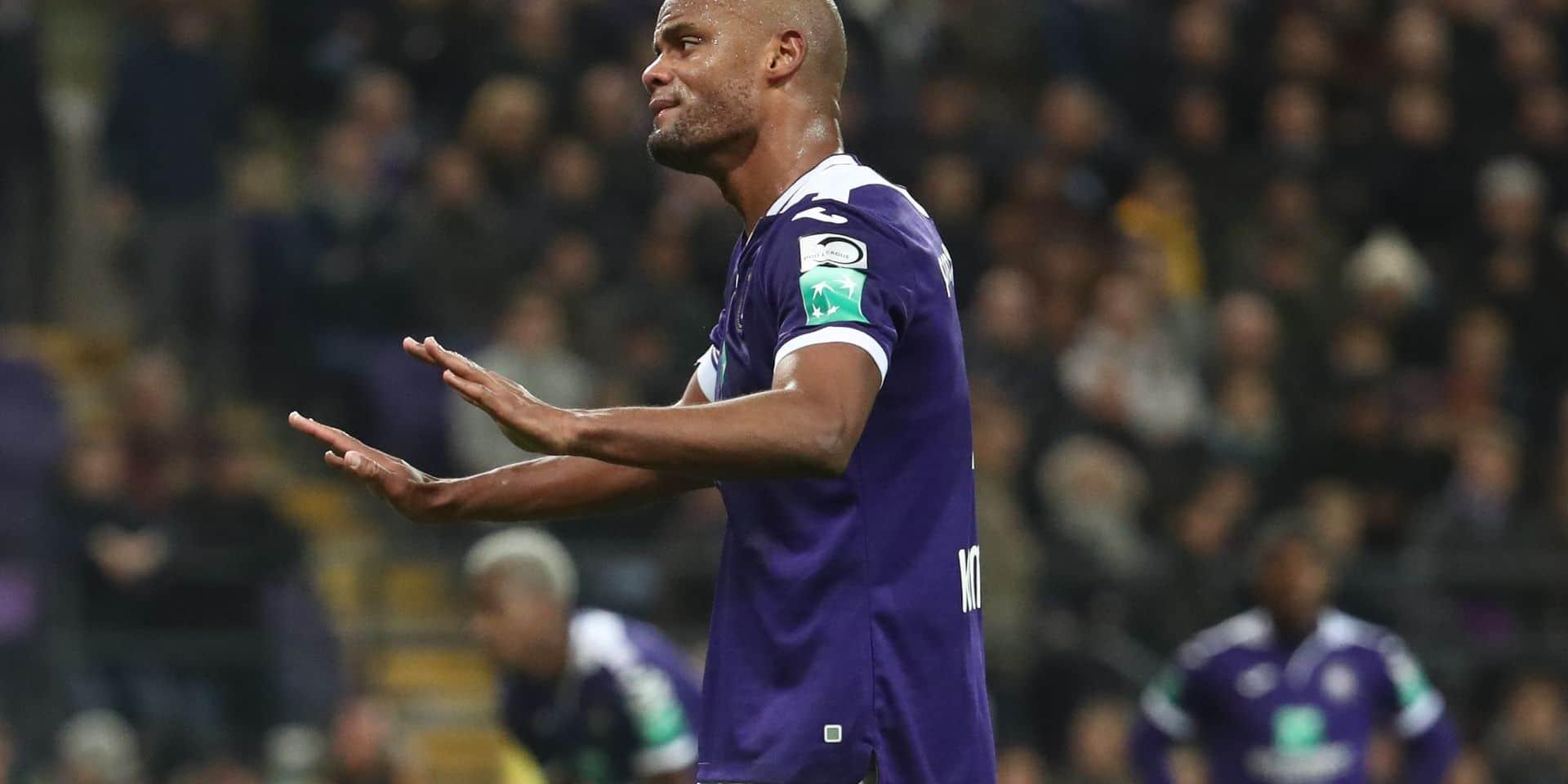 """Vincent Kompany satisfait malgré la défaite: """"On est en train de réduire l'écart avec Bruges"""""""