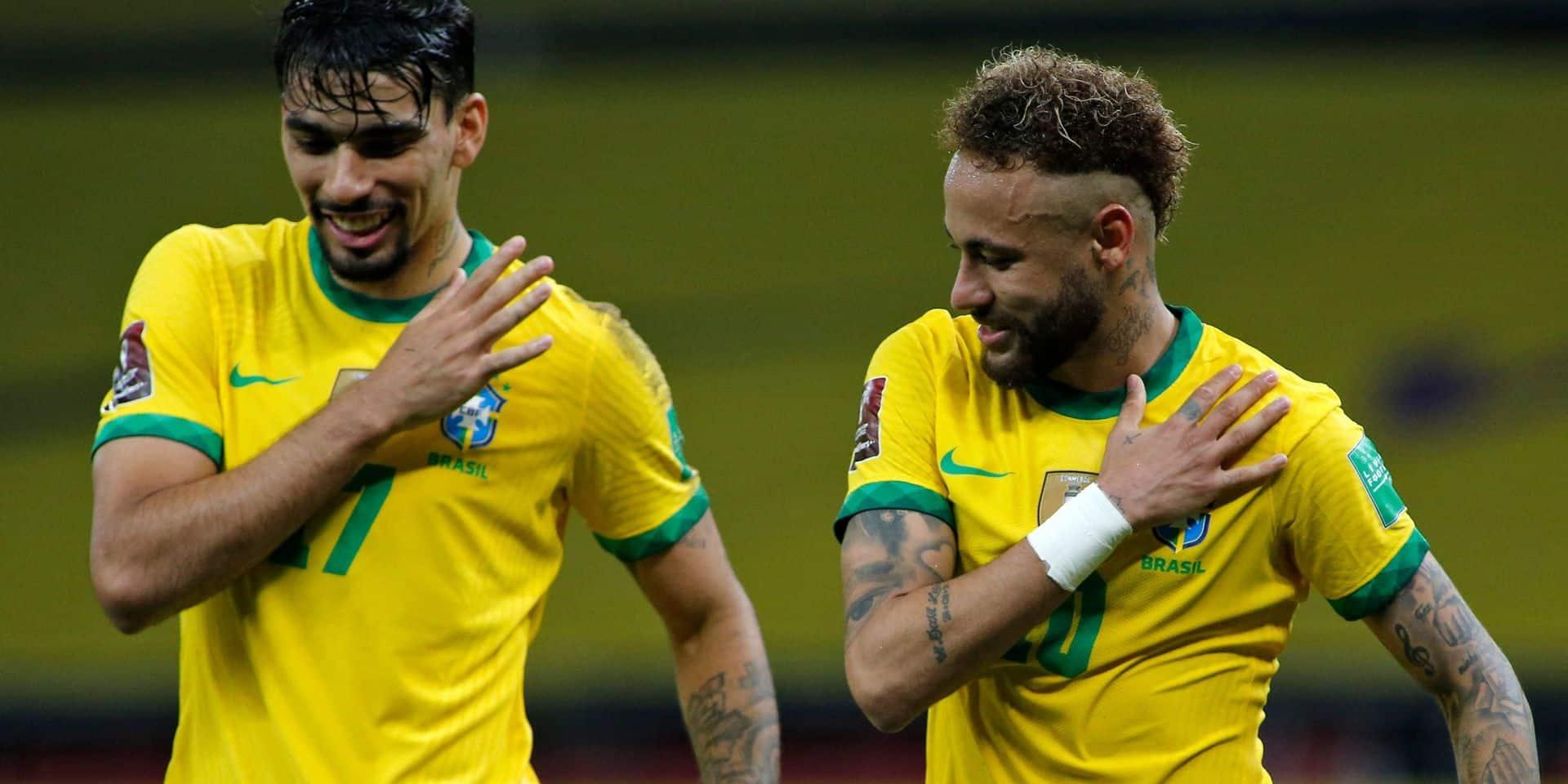 Mondial-2022: le Brésil vainqueur, Neymar buteur et passeur