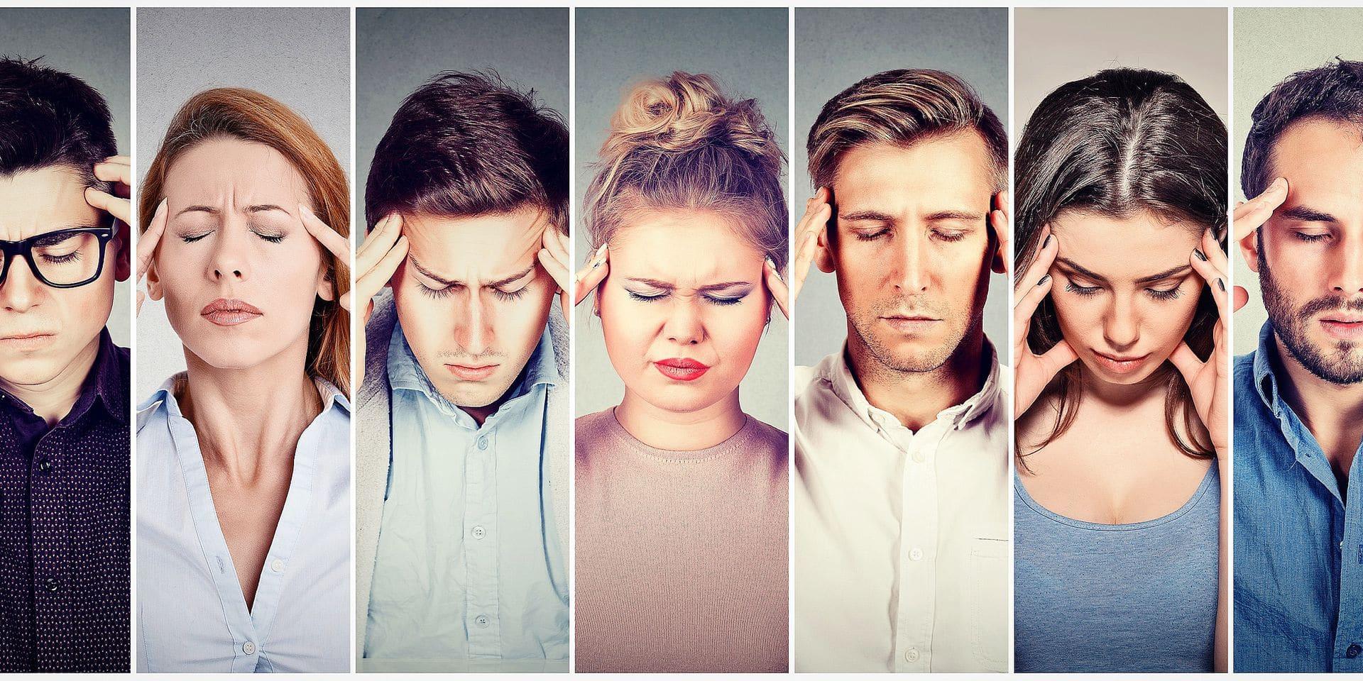 """La migraine reste un sujet tabou au travail: """"34 % des patients cachent leur migraine à leur supérieur"""""""