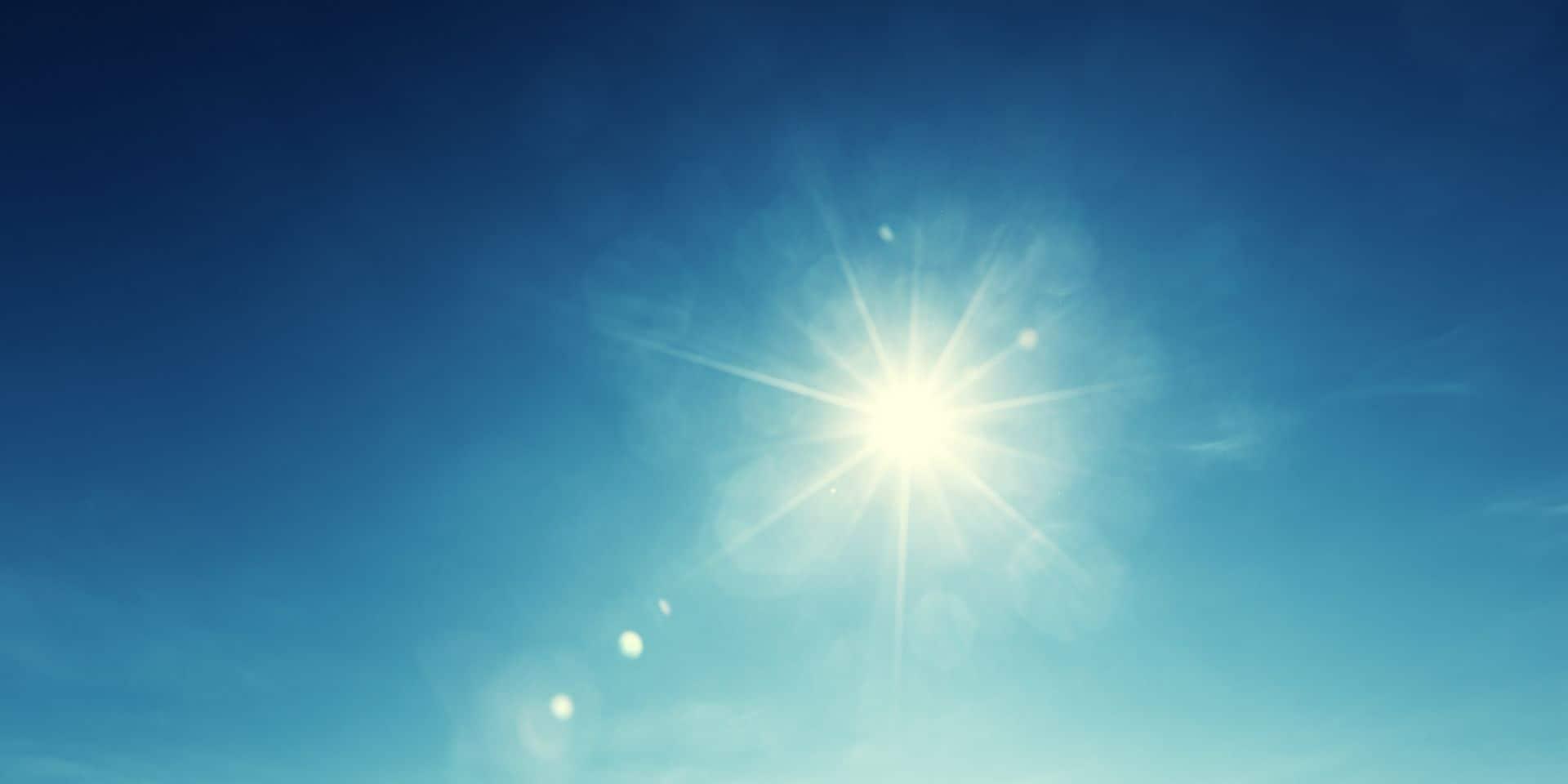 Météo: un beau soleil et un temps doux jusqu'à mardi