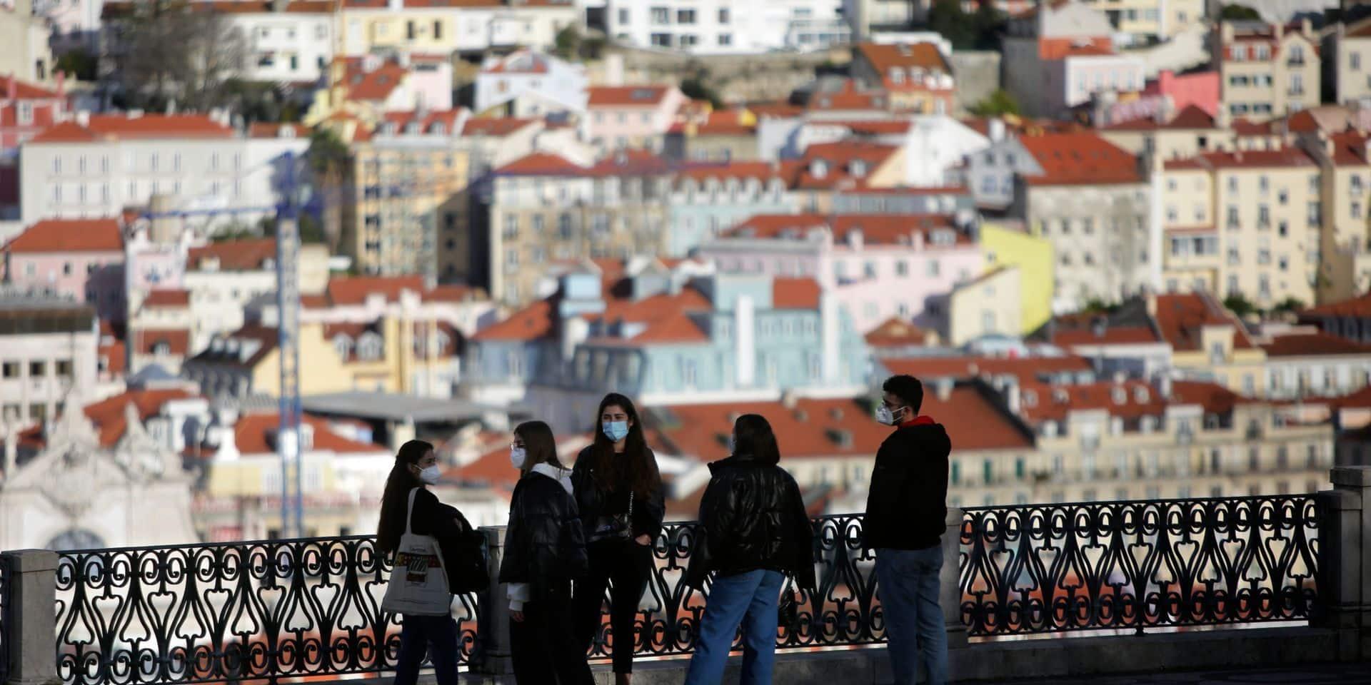 Le Portugal impose de nouvelles restrictions sanitaires ciblant la région de Lisbonne