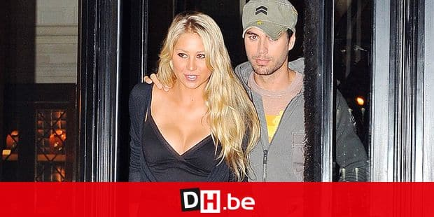 Anna Kournikova and Enrique Iglesias have diner at the Market restaurant after spending the journey shopping for jewelery in Paris, France on September 24, 2009. Photo by ABACAPRESS.COM abaca / Reporters Ref: 202992
