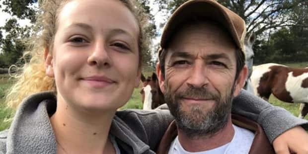 """""""Tout est allé si vite"""" : le message touchant de la fille de Luke Perry"""