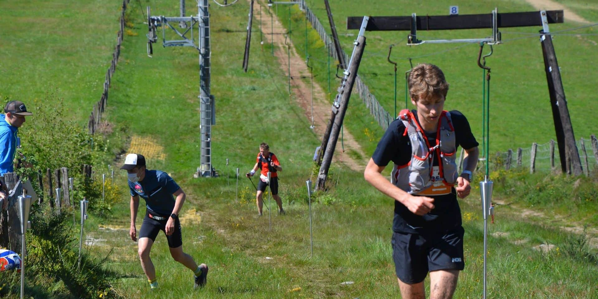 """Florent Caelen, favori du championnat de Belgique de course de montagne: """"C'est un effort hyper-violent"""""""