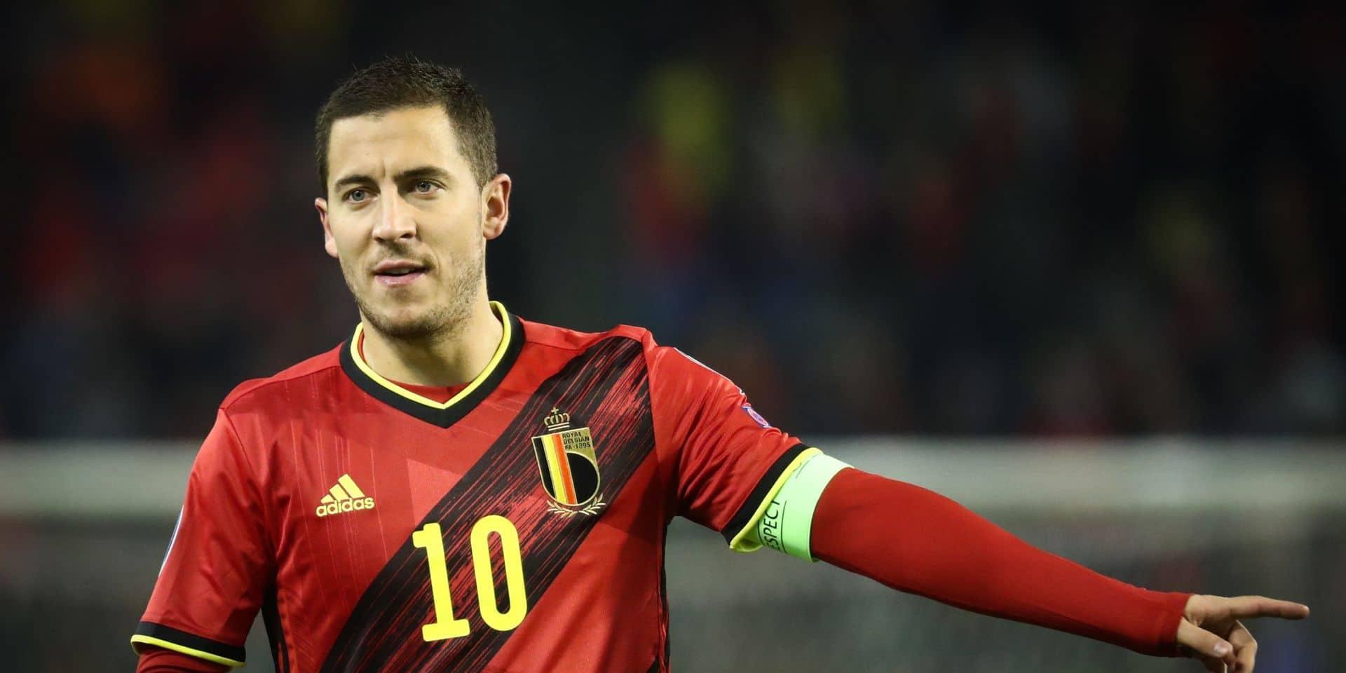 Eden Hazard et Jan Vertonghen absents de l'entraînement collectif mercredi