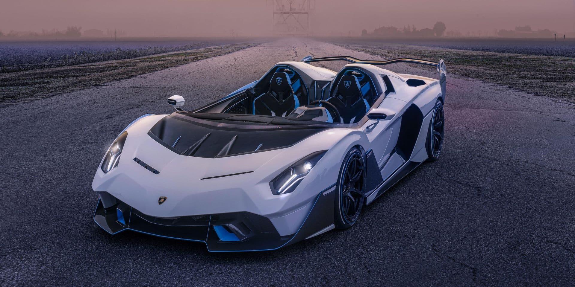 """Voici la nouvelle super-Lamborghini """"de course"""""""