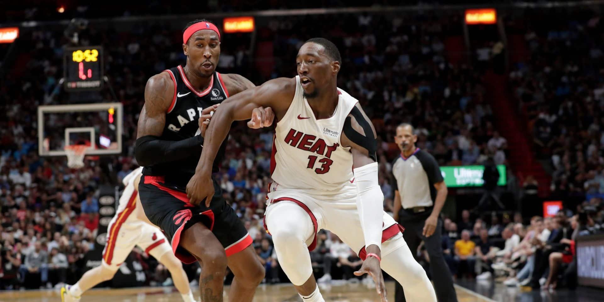 NBA: Miami se joue de Toronto, victoires de Denver et des Clippers à l'Ouest