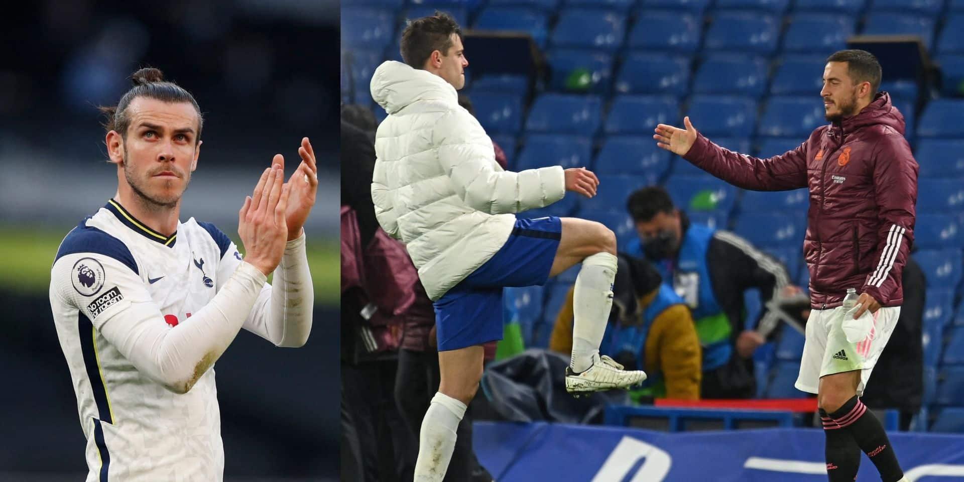 """Gareth Bale défend Eden Hazard: """"C'était comme s'il venait d'assassiner tout le monde"""""""